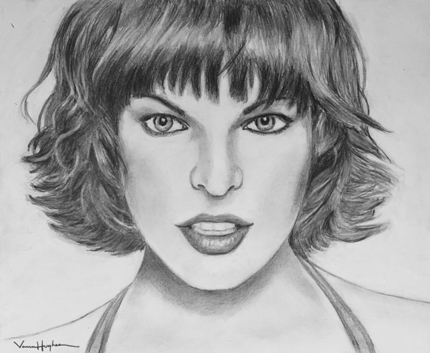 Milla Jovovich by Vannagain